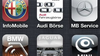 Edle Magazine, Konfiguratoren, Sounds und Co.: iPhone und iPad - Die Apps der Automobilhersteller