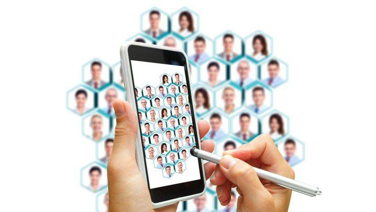 Die zunehmende Zahl von Smartphones und Tablets fordert die IT-Abteilung.