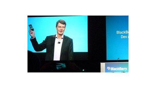 RIM hofft auf die neue Smartphone-Plattform Blackberry 10