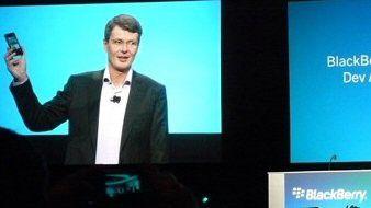 Der neue RIM-CEO Thorsten Heins setzt alles auf Blackberry 10.