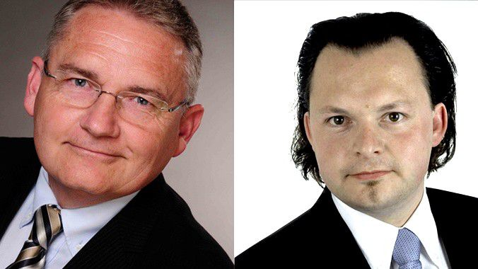 Personalberater Raimund Mrugalla (links) und Andy Beyer.