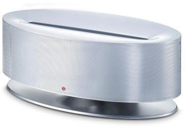LG Dual-Docking-Lautsprecher ND8630 mit AirPlay, Bluetooth und NFC