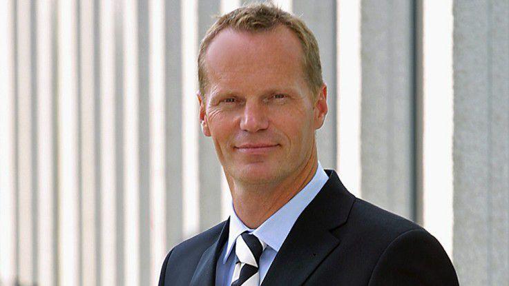 """Michael Ganser, Senior Vice President bei Cisco: """"Es war richtig uns wieder auf das Kerngeschäft zu konzentrieren."""""""