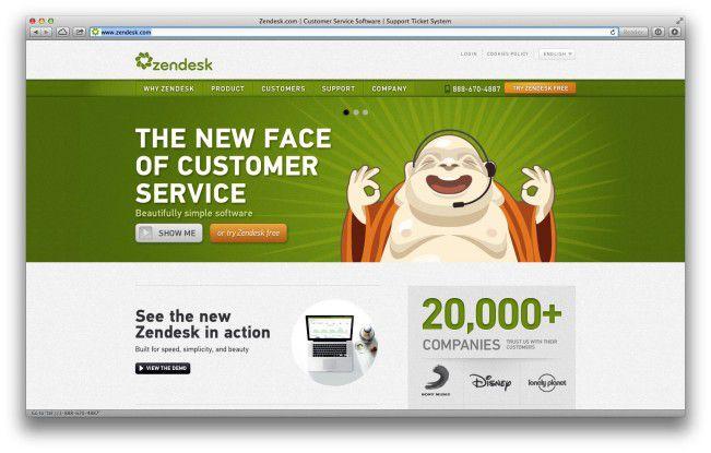 Zendesk ist als Software für den Helpdesk gedacht, kann aber auch Chat, Twitter und Facebook.