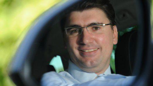 Autofahren ist Teil seines Jobs:Itelligence-Berater Tobias Kuhnt.