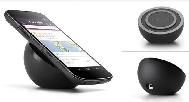 In Deutschland (noch) nicht verfügbar: Nexus 4 Wireless Charging Orb