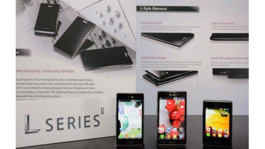 LG stellt die zweite Generation der L-Serie Ende Februar auf dem MWC vor.