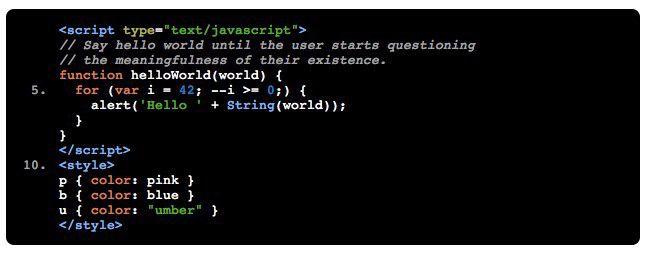 Mit Google Code Prettify sieht Quellcode gleich viel übersichtlicher aus.