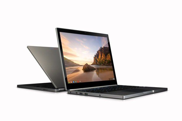 Das neue Chromebook Pixel hat ein hochauflösendes Display - bestens geeignet für Video...