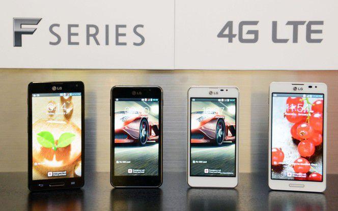Die Geräte der F-Serie sind im mittleren Preissegment angesiedelt.