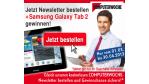 Bis 30.April: Anmelden und Galaxy Tab 2 gewinnen