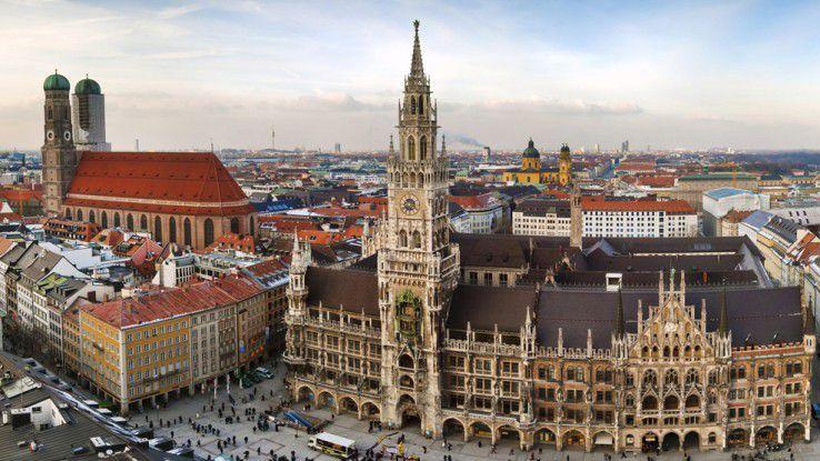 Münchner Firmen haben es leichter, weil viele Menschen hier leben wollen.