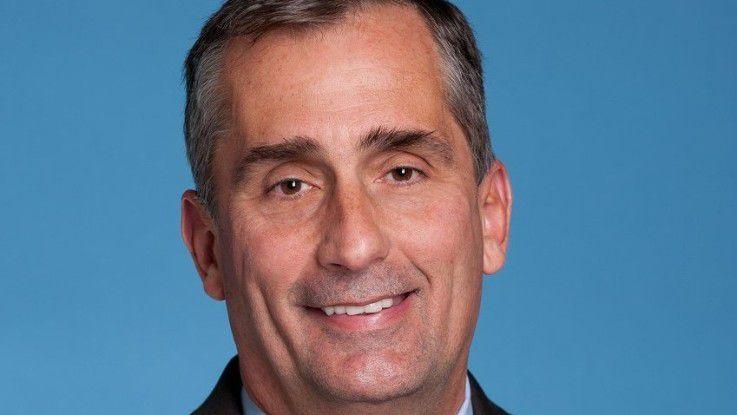 Der neue Intel-Chef Brian Krzanich pusht nun Chips für mobile Geräte.