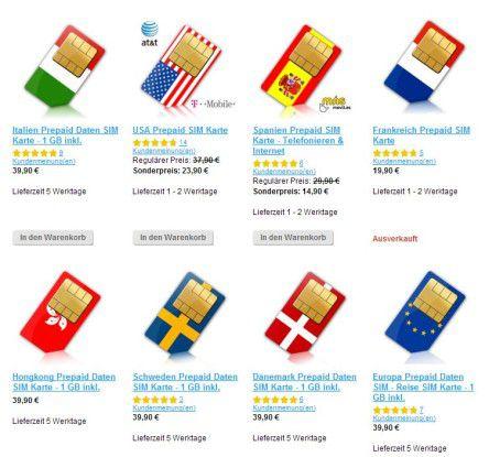Bietet SIM-Karten für (fast) jedes Land: Simly