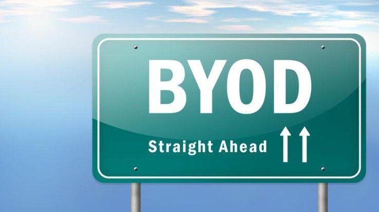 Der Weg zu ByoD ist selten geradlinig und kaum so gut beschildert...