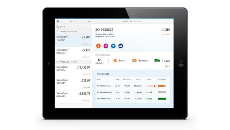 Mit den browser-basierten SAP Fiori-Apps lassen sich Aufgaben rollenbasiert und prozessbezogen in einer einzigen Benutzeroberfläche erledigen - am Desktop oder mobil per Smartphone und Tablet.