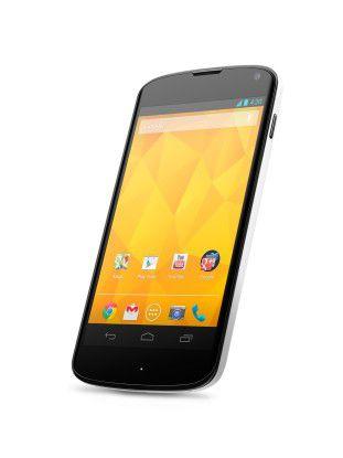 Für das 2012 vorgestellte Nexus 4 wird es keine großen System-Updates mehr geben.