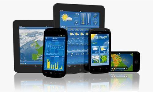 Zusammen mit Wetter.info die am besten bewertete App: Weather Pro