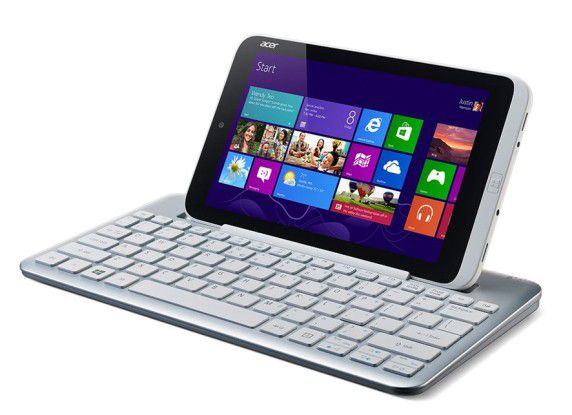 Windows-8-Tablet mit 8-Zoll-Display: Acer Iconia W3