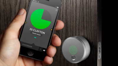 Gadget des Tages: August Smart Lock öffnet Türen per Smartphone - Foto: August