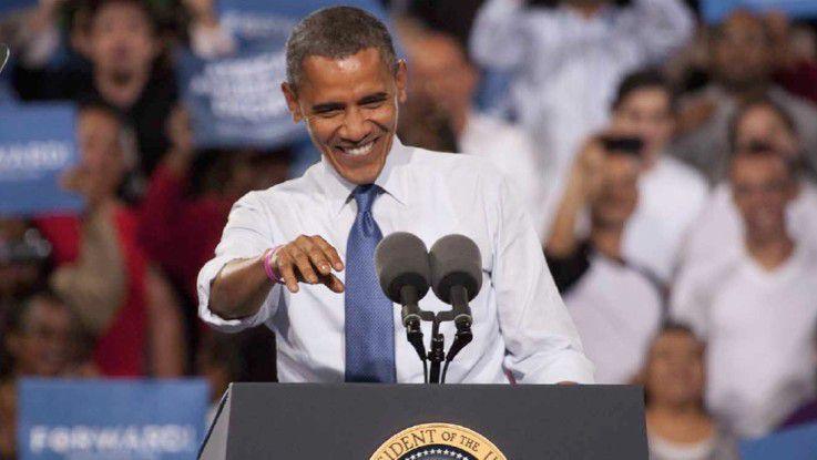 Wie Obama die Wahl gewann - ein Fall für Big Data.