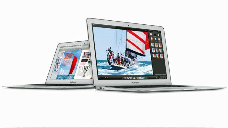 Mit dem MacBook Air läutete Apple schon Jahre vor Intel den Trend zu dünnen und leichten Notebooks mit langer Akkulaufzeit ein.