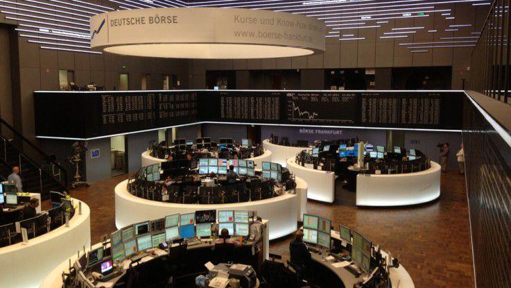 Am Frankfurter Börsenplatz wird heute nur noch für das Fernsehen gehandelt.
