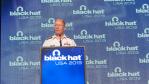 Keynote der Blackhat Konferenz: Der NSA-General versucht sich am Klartext - Foto: Moritz Jäger