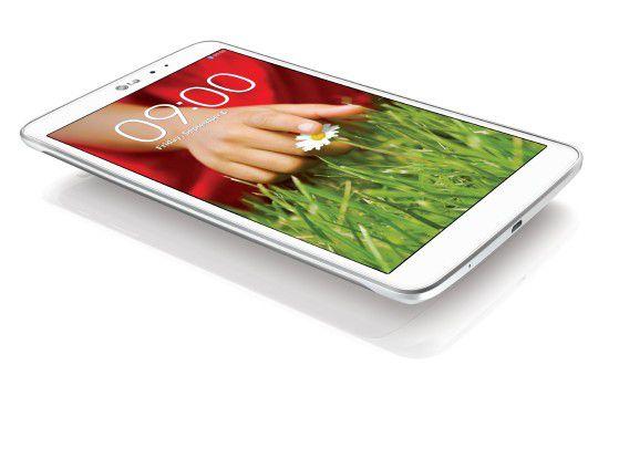 Auch in Weiß verfügbar: LG G Pad 8.3