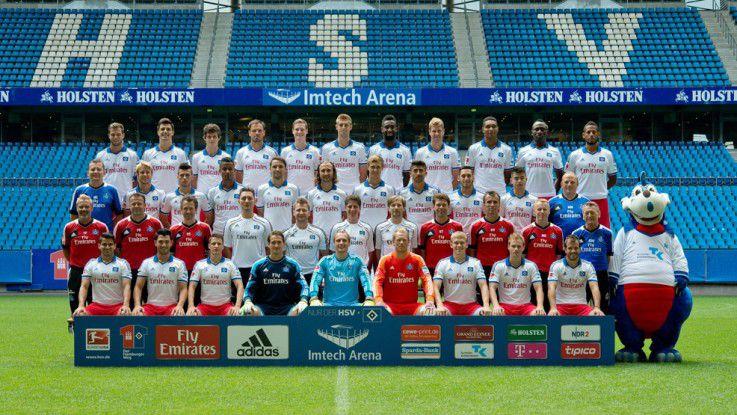 Der HSV spielt seit Gründung der Bundesliga erstklassig.