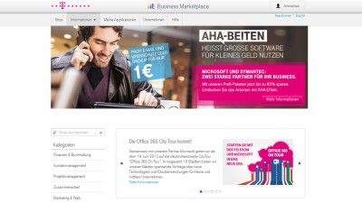 Best in Cloud 2013 - Deutsche Telekom: Wie Kleinbetriebe den Business Marketplace nutzen