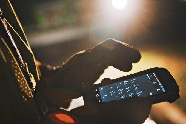 Das Motorola TC55 lässt sich auch mit gewöhnlichen Handschuhen bedienen.
