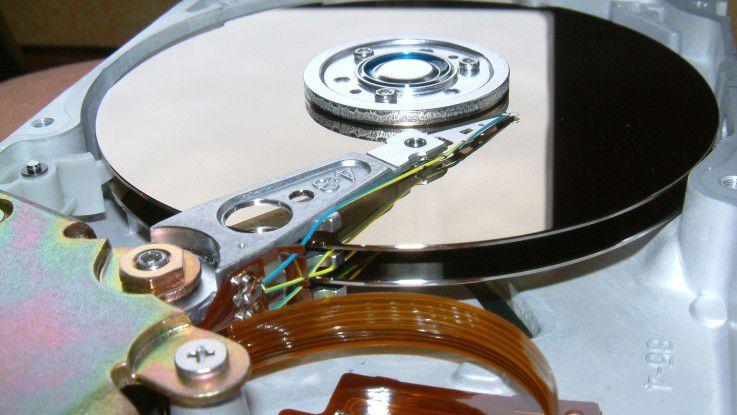 Mittelfristig sollen Magnetfestplatten in neue Größendimensionen vorstoßen können.