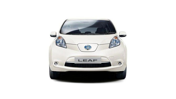 Ein autonomes Automobil: Der Nissan Leaf