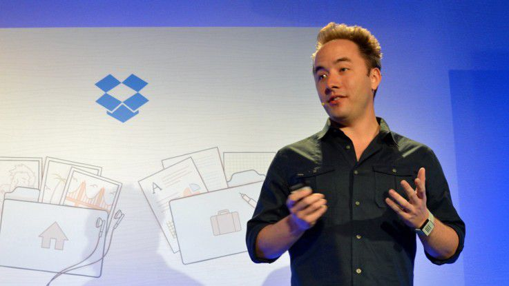 "Drew Houston präsentiert ""Dropbox for Business"""