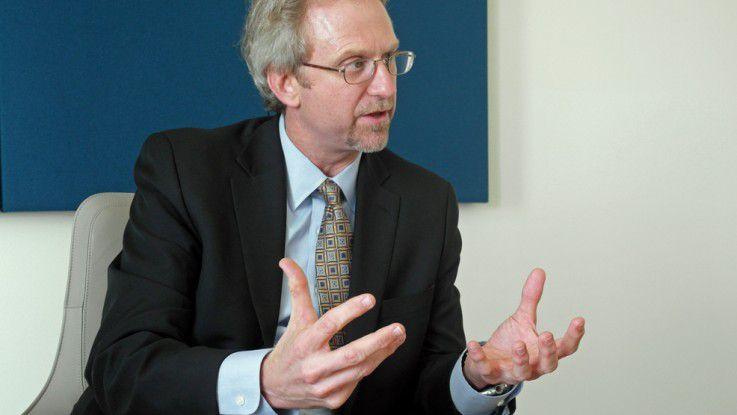 Paul Daugherty, CTO von Accenture: Hinter der Digitalisierungswelle sind Innovationen wie 3-D-Druck und Smart Object zu erkennen.