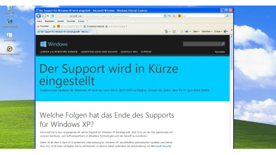 Windows XP Support: Wo der XP-Umstieg hakt - Foto: Frank-Michael Schlede