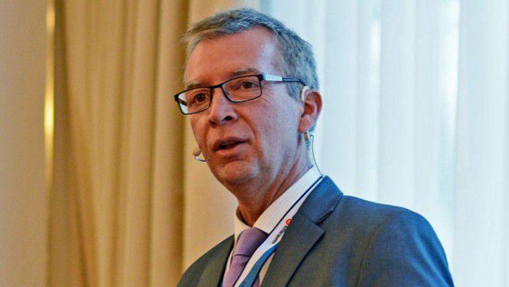 Bernd Kuntze, CIO von Haas Food Equipment auf den Hamburger IT-Strategietagen
