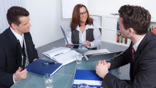 Erfolgreiche Bewerber müssen fachlich und persönlich stimmig rüberkommen.