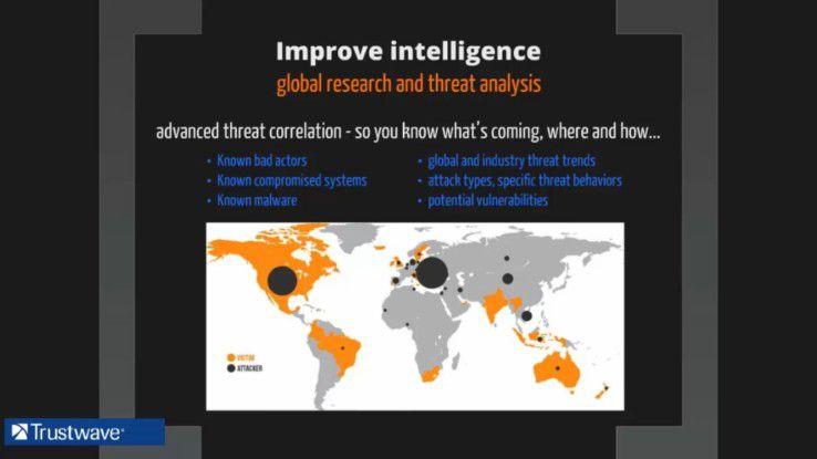 Die Kombination verschiedener, weit verteilter Quellen für sicherheitsrelevante Informationen ermöglicht es, Angriffe früher und besser zu erkennen. Dies ist die Basis für Lösungen im Bereich Threat Monitoring und Threat Intelligence.