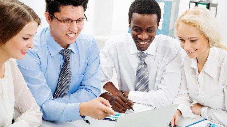 In interkulturellen Teams sind nicht nur Sprachkenntnisse gefragt, sondern auch gegenseitiges Verstädnis.