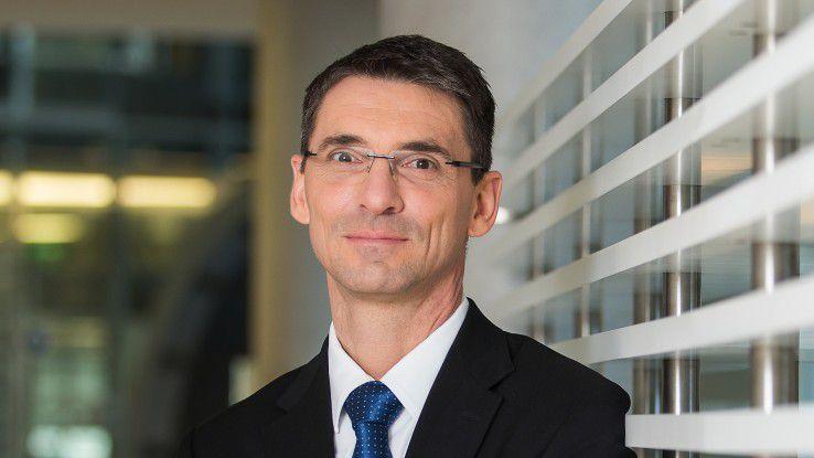 """Bernd Leukert, SAP-Vorstand Technik: """"Ich bin pragmatisch und orientiere mich in meiner Arbeit eng am Kunden."""""""