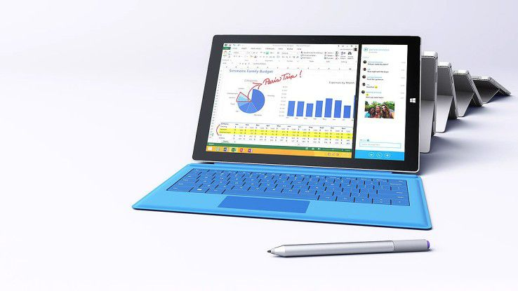 Microsofts Notebook-Ersatz Surface Pro 3