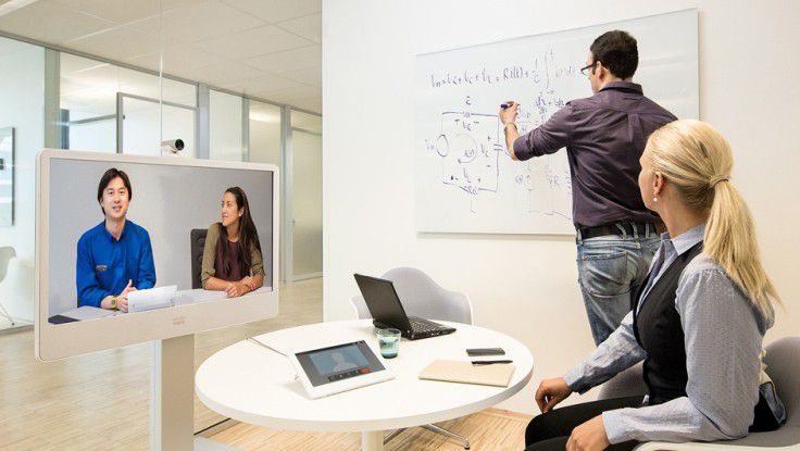 Ciscos Produkte finden wieder etwas mehr Absatz.