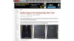 Ähnlichkeit mit dem Galaxy Alpha: Samsung Galaxy Note 4 im neuen Design - Foto: GSMArena