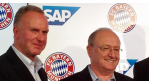 """FC Bayern München paktiert mit der SAP: """"Zwei Sterne des Südens"""""""