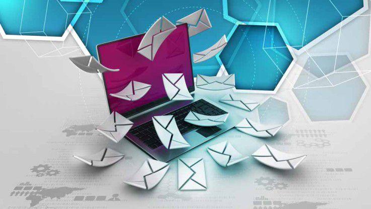 """Auch Tim Bendzko muss """"... noch 148.713 Mails checken ..."""" bevor er in seinem Song die Welt rettet. Die E-Mail-Flut lässt nach wie vor keinen aus ihrem Bann."""