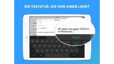 Nach 250-Millionen-Dollar-Übernahme: Microsoft integriert Tastatur-App Swiftkey in Windows - Foto: TouchType Ltd.