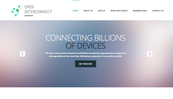 """Intel, Samsung und vier weitere Unternehmen wollen mit dem """"Open Interconnect Consortium"""" und offenen Standards für untereinander kompatible Geräte im Internet of Things sorgen."""