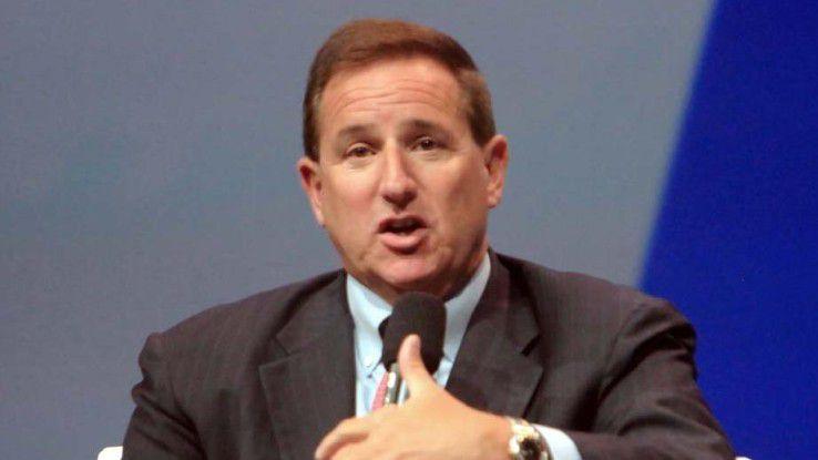 Oracle-Co-Chef Mark Hurd (hier auf der Hausmesse OpenWorld 2014)